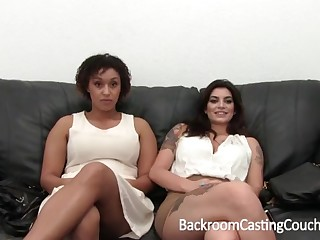 Outstanding Bi-Racial Grand Orb 3Some Audition