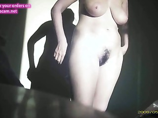 hidden cam be advantageous to my unaware wed saggy heart of hearts and hairy pussy