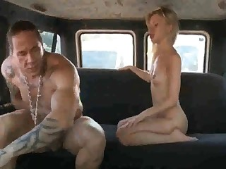 Russian ho gets her coochie rammed stiff after deepthroating rod in the back of the effrontery first