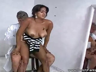 Indian maw is getting humped in feign of the camera and fond continually single 2nd of it
