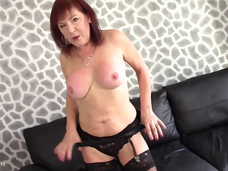 Wendy Taylor moans in pleasure during her desolate masturbating session