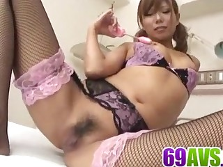 Naked Aya loves sucking and - More at 69avs.com