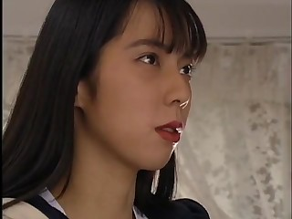 KUROSAWA AYUMI LOVE MAKING WITH JAPANESE GUY Round USA SCHOOL FE-077