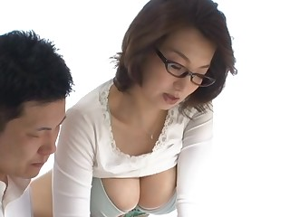 Mio Takahashi horny Asian teacher gives check tick off school lessons