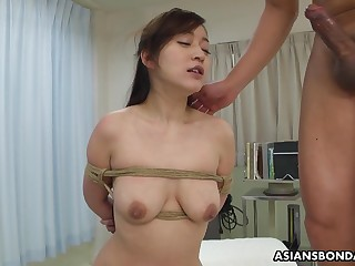 Busty Japanese chick, Maria Ono got promised coupled with fucked