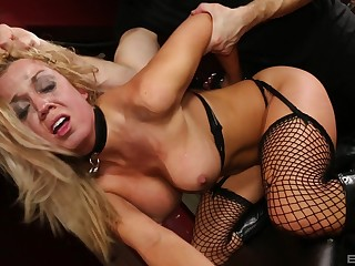 Doggy style merciless hardcore for sensual Parker Swayze