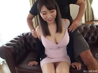 Takarada Monami screams from pleasure to the fullest her friend fucks her