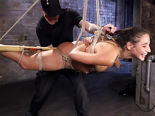 Submissive slut endures a lot be required of ass fucking and brutal XXX