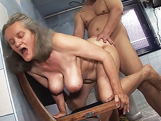 busty 83 adulthood old mom resemble fucked
