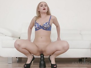 Rough Anal With Print Penetration for Blondie Adelis