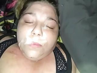 Kaci Stout Facial And Cum Swallow Cumshot Compilation Updated Version