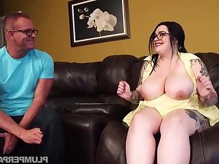 Marilyn Mayson hot BBW porn video